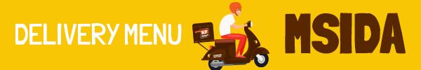 msida delivery menu